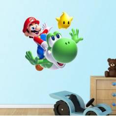 Super Mario 2, id2 αυτοκόλλητα τοίχου