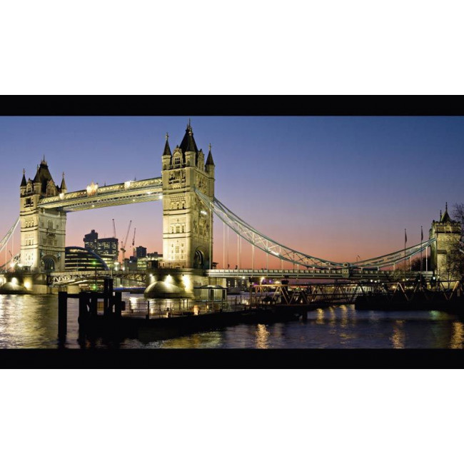 London tower bridge, φωτογραφία πελάτη , πίνακας σε καμβα 170 Χ 100