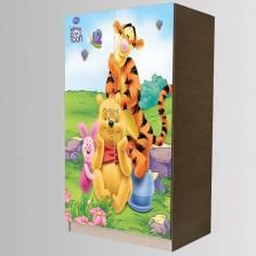 Winnie and Friends art 1 , Αυτοκόλλητο 2φυλλης ντουλάπας