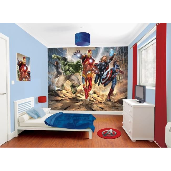 The avengers , φωτογραφική ταπετσαρία αυτοκόλλητη, προσαρμοσμένες διαστάσεις