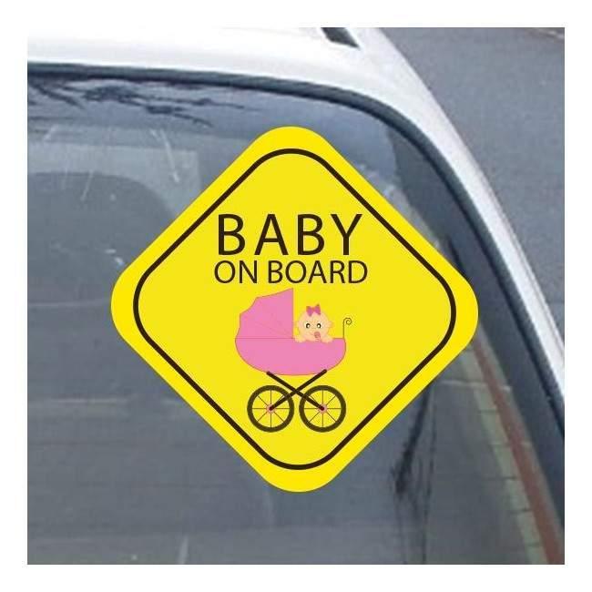My girl on board! , Αυτοκόλλητο αυτοκινήτου ( Εξ. επικόλληση)