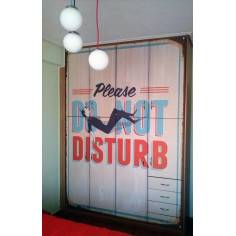 Do not disturb, Ταπετσαρία αυτοκόλλητη , για τοίχο και έπιπλα