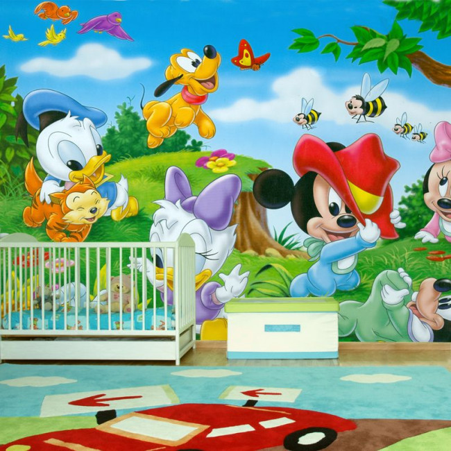 Disney Babies , αυτοκόλλητη φωτογραφική ταπετσαρία