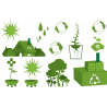 Eco reminder | Συλλογή 1 Αυτοκόλλητο τοίχου