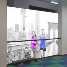 Ταπετσαρία τοίχου, Running at Brooklyn bridge