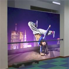 Dancer figure, φωτογραφική ταπετσαρία αυτοκόλλητη