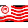 Σημαία του Ολυμπιακού, αυτοκόλλητο τοίχου