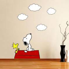 Snoopy! , αυτοκόλλητο τοίχου