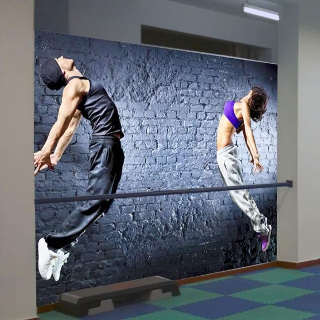 Dancers heat, φωτογραφική ταπετσαρία αυτοκόλλητη