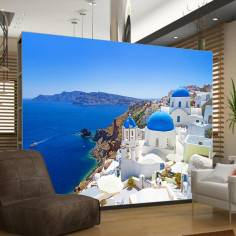 Santorini instance, ταπετσαρία τοίχου φωτογραφική