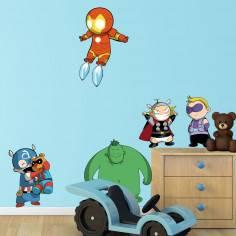 Baby avengers , αυτοκόλλητο τοίχου