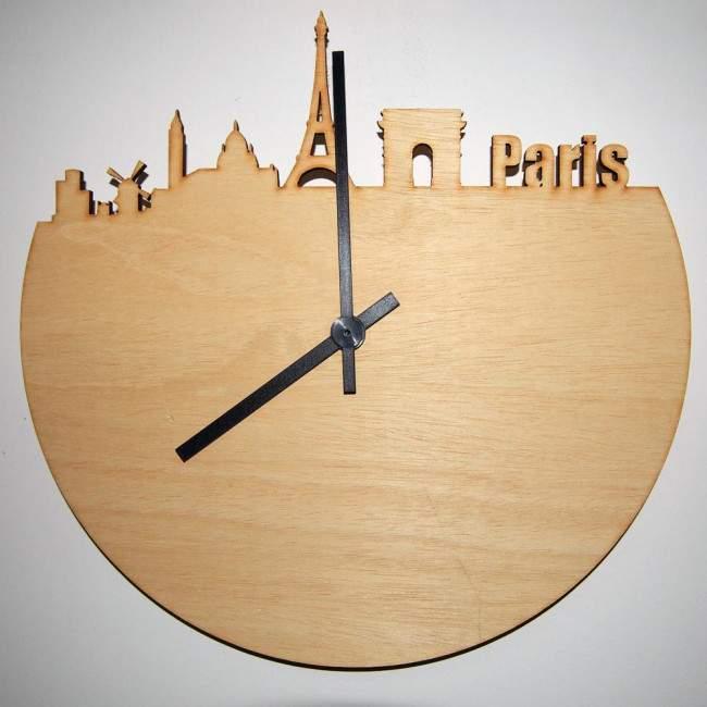 Paris skyline , ρολόι τοίχου