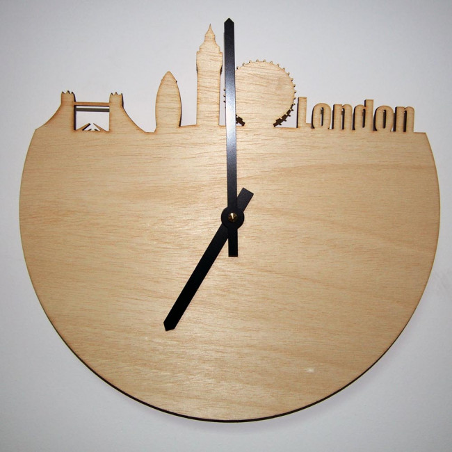 London skyline , ρολόι τοίχου