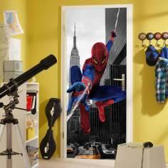 Spiderman, αυτοκόλλητο πόρτας