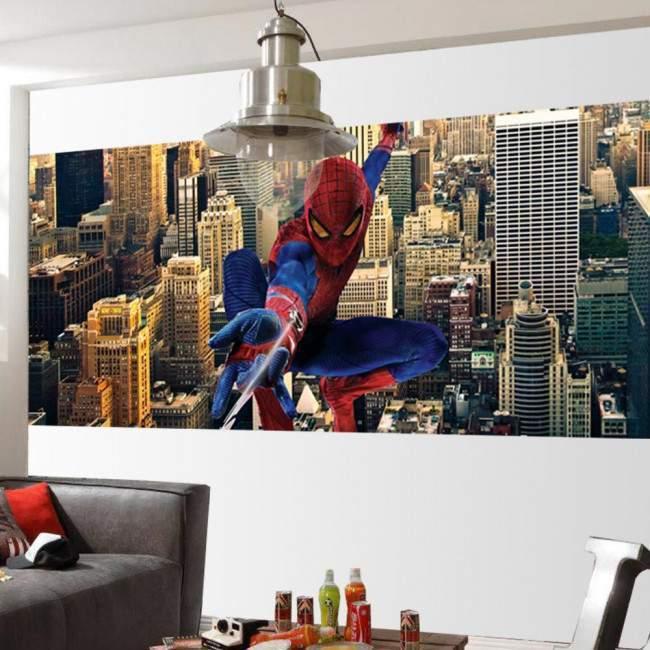 Spiderman over New York, αυτοκόλλητη ταπετσαρία