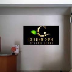 Εταιρικό λογότυπο σε plexiglas
