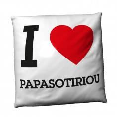 I love ... , βαμβακερό διακοσμητικό μαξιλάρι, με το σχέδιο θέλετε!