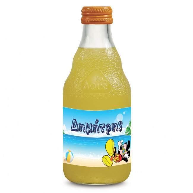 Mickey Mouse ,10άδα ,αυτοκόλλητες ετικέτες για μπουκάλια αναψυκτικών ,νερού, με το όνομα που θέλε