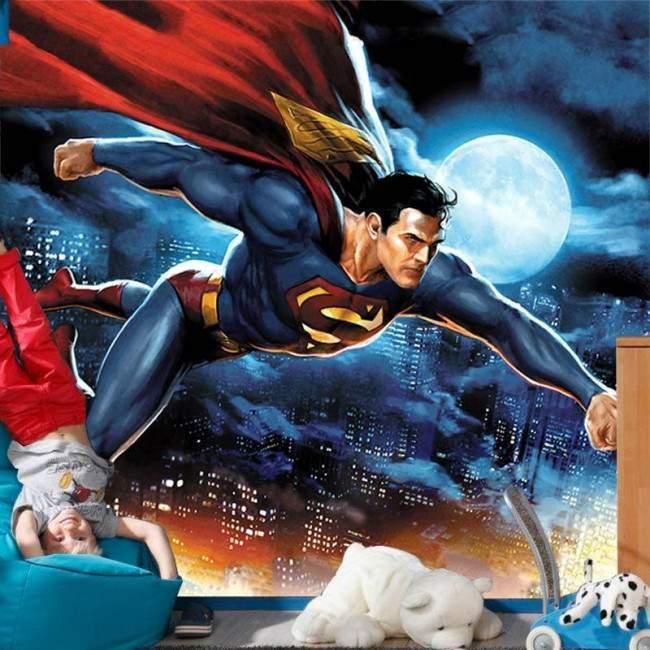 Superman, καλλιτεχνική απεικόνιση, φωτογραφική ταπετσαρία