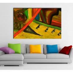 Abstract painting II, πίνακας σε καμβά