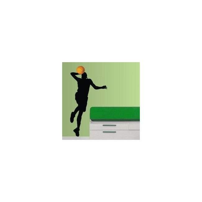 Μπασκετμπολίστας 2 Αυτοκόλλητο τοίχου