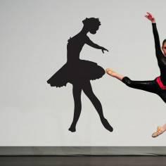 Φιγούρα μπαλέτου art6, Αυτοκόλλητο τοίχου