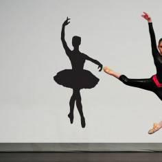 Φιγούρα μπαλέτου art5, Αυτοκόλλητο τοίχου
