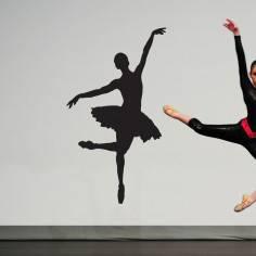 Φιγούρα μπαλέτου art7, Αυτοκόλλητο τοίχου