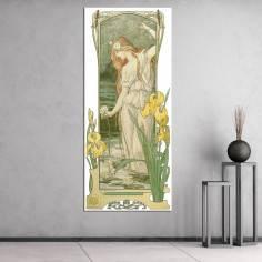 Fleurs des Champs II,Elisabeth Sonrel, αντίγραφο - αναπαραγωγή πινακα σε καμβά