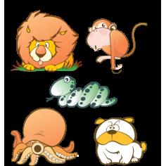 Αστεία Ζώα Συλλογή