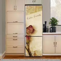 Αυτοκόλλητο ψυγείου, Carte postale