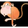 Αστεία Μαϊμού |Αυτοκόλλητο τοίχου