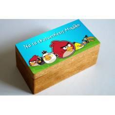 Angry birds, αυτοκόλλητες ετικέτες με το όνομα που θέλετε,για κουτιά,μπομπονιέρες κτο