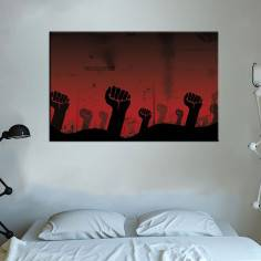 Revolution, πίνακας σε καμβά
