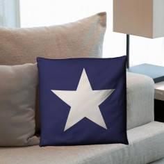 Star (blue), διακοσμητικό μαξιλάρι