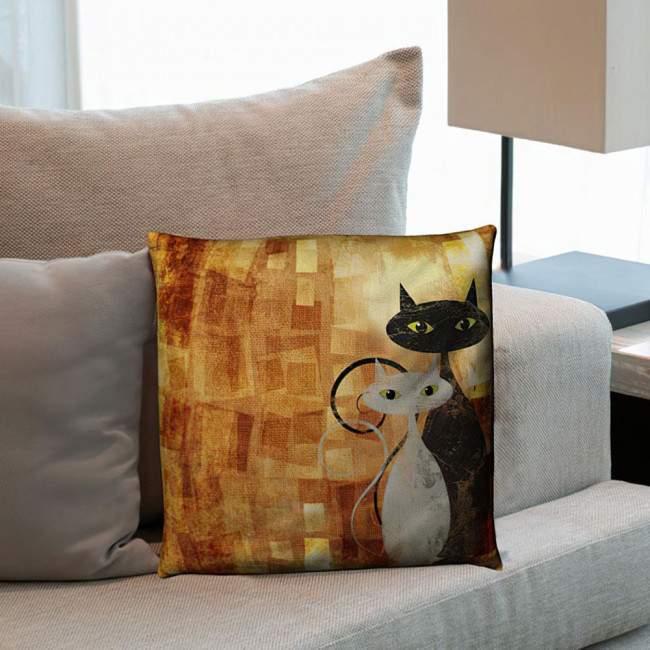 The Cats, διακοσμητικό μαξιλάρι