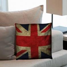 Αγγλική σημαία vintage, διακοσμητικό μαξιλάρι