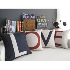 Love , σετ 4 διακοσμητικά μαξιλάρια