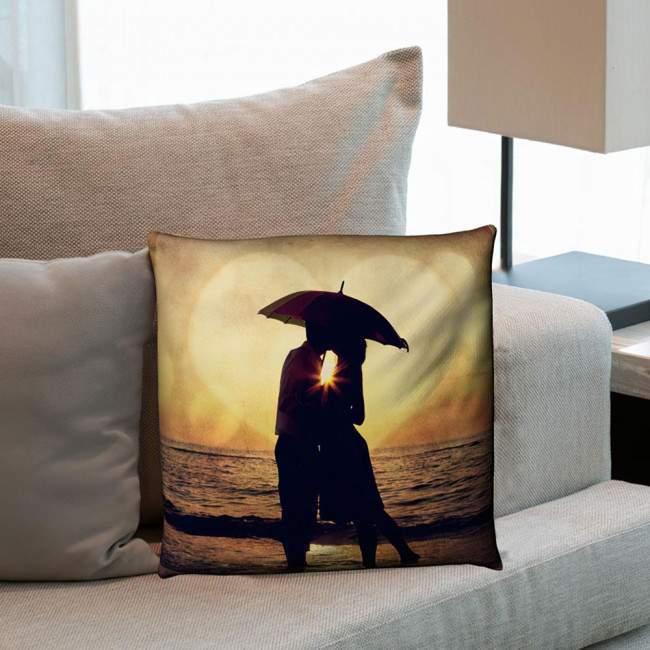 Sunset Kiss, διακοσμητικό μαξιλάρι