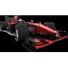 F1 Formula One Αγωνιστικό αυτοκίνητο , Κόκκινο , Αυτοκόλλητο τοίχου