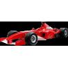 F1 Formula One Αγωνιστικό αυτοκίνητο ,Κοκκινο 2 , Αυτοκόλλητο τοίχου , κοντινό