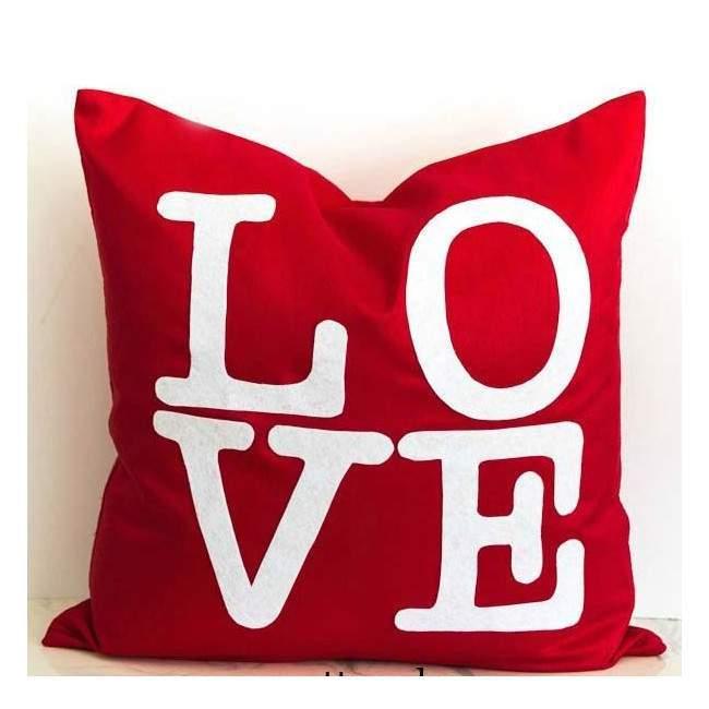 Love colors, διακοσμητικό μαξιλάρι
