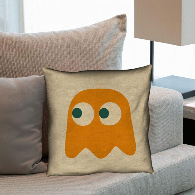 Pac-Man Clyde Ghost, διακοσμητικό μαξιλάρι