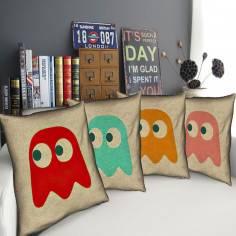 Pac-Man Ghosts , σετ 4 διακοσμητικά μαξιλάρια