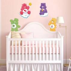 Αρκουδάκια της αγάπης (Care bears ) art2 , αυτοκόλλητο τοίχου