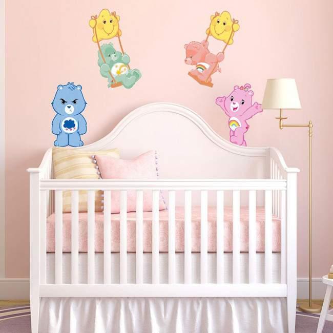 Αρκουδάκια της αγάπης (Care bears ) art3 , αυτοκόλλητο τοίχου