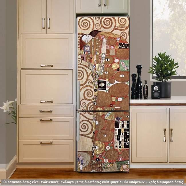 Embrace, αυτοκόλλητο - ταπετσαρία ψυγείου