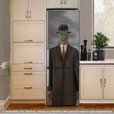 Son of a man, Rene Magrittei, αυτοκόλλητο ψυγείου