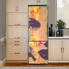 Anybody? , αυτοκόλλητο ψυγείου