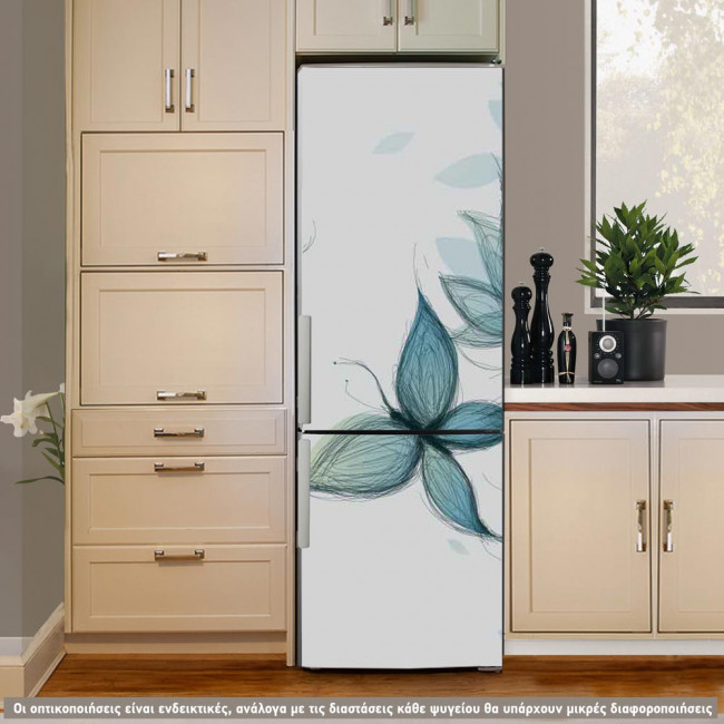 Butterflies Dreams, αυτοκόλλητο ψυγείου
